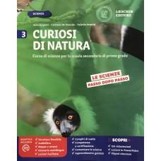 Curiosi di Natura - Vol. 3 Corso de Scienze per la scuola secondaria