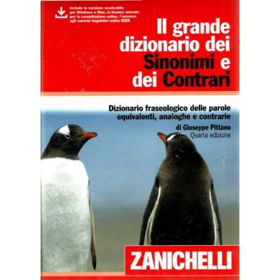 IL GRANDE DIZIONARIO DEI SINONIMI E CONTRARI (4ED)