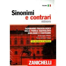 SINONIMI E CONTRARI MINORE (3ED) Dizionario fraseologico delle parole equivalenti, analoghe e contrarie. Ediz. minore. Con CD-ROM