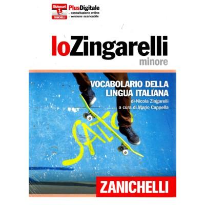 LO ZINGARELLI MINORE (15ED) Vocabolario della lingua italiana. Con aggiornamento online