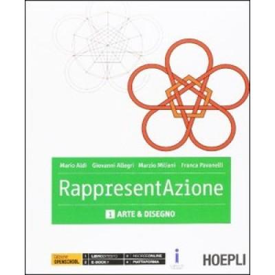 Rappresentazione. Vol. 1-2: Arte e deisegno-Architettura e disegno. Con e-book. Con espansione online.